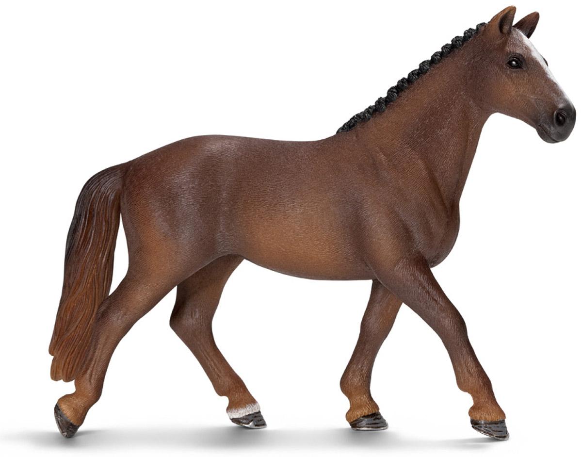 Schleich Фигурка Ганноверская кобыла schleich тракененская лошадь кобыла schleich