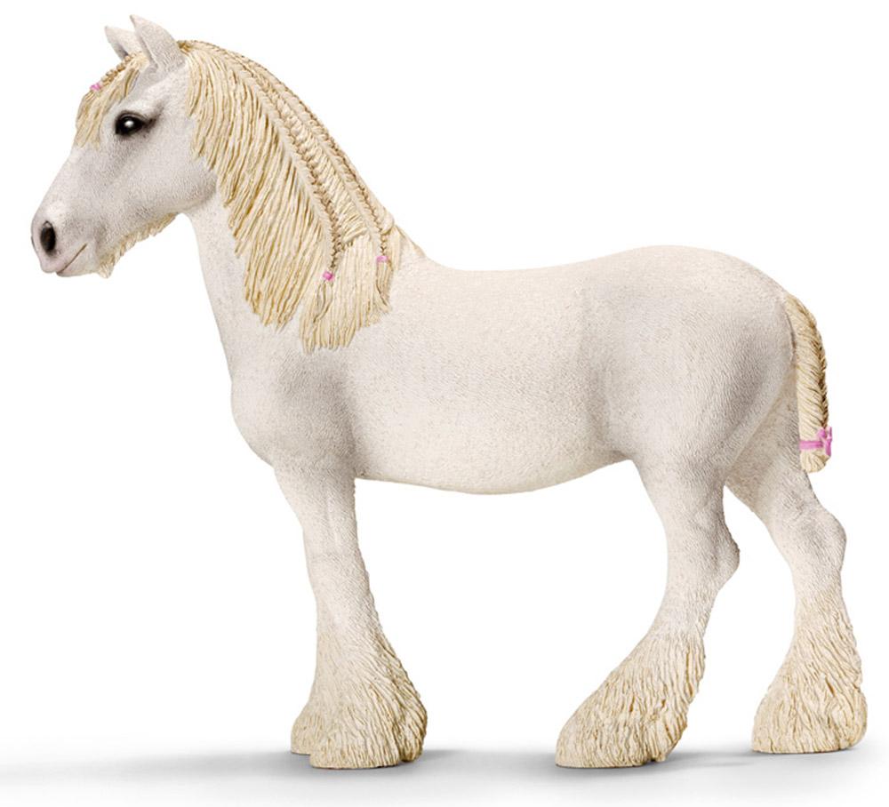 Schleich Фигурка Шайрская кобыла schleich тракененская лошадь кобыла schleich