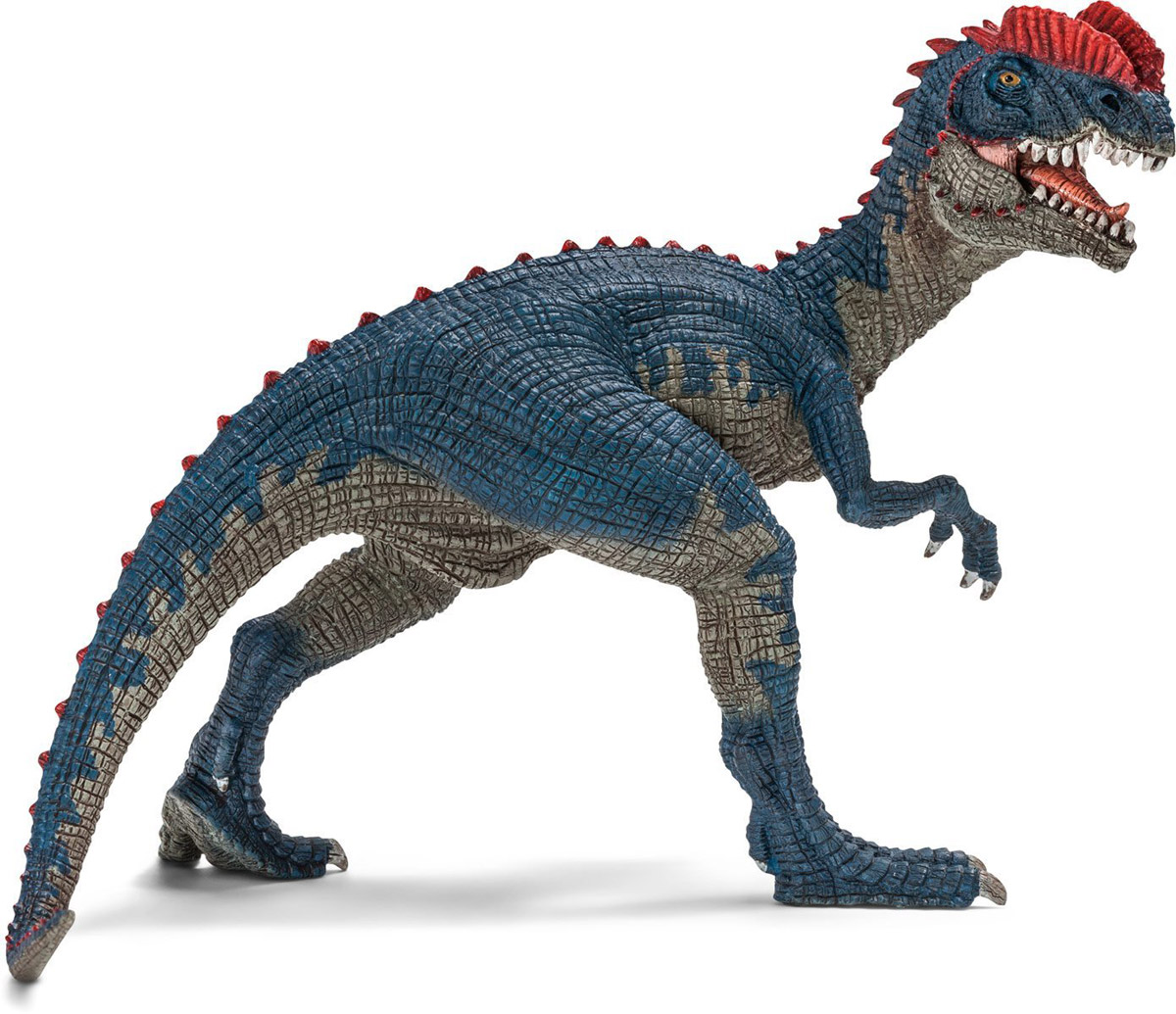 Schleich Фигурка Дилофозавр рисуем 50 динозавров и других доисторических