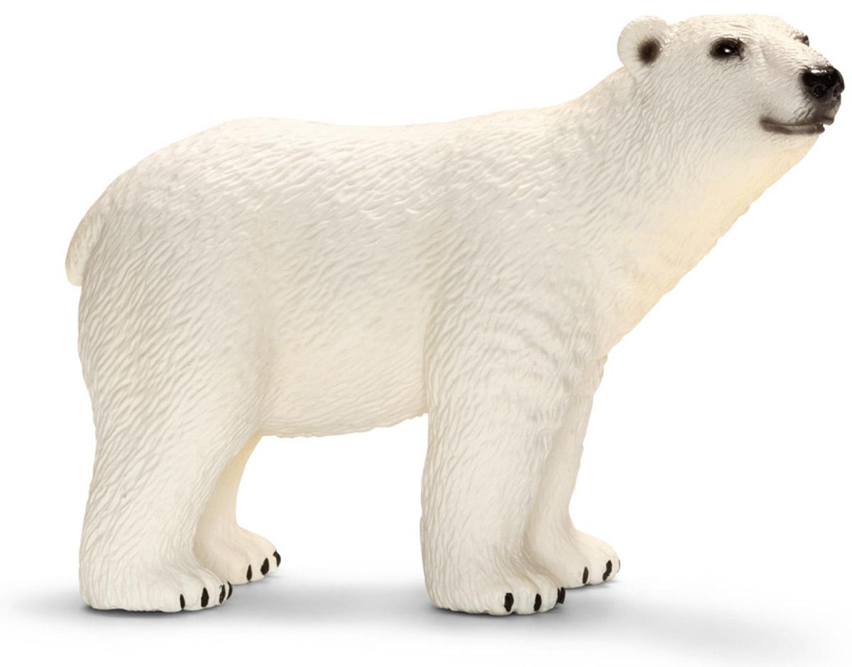 Schleich Фигурка Белый медведь медведь в одежде