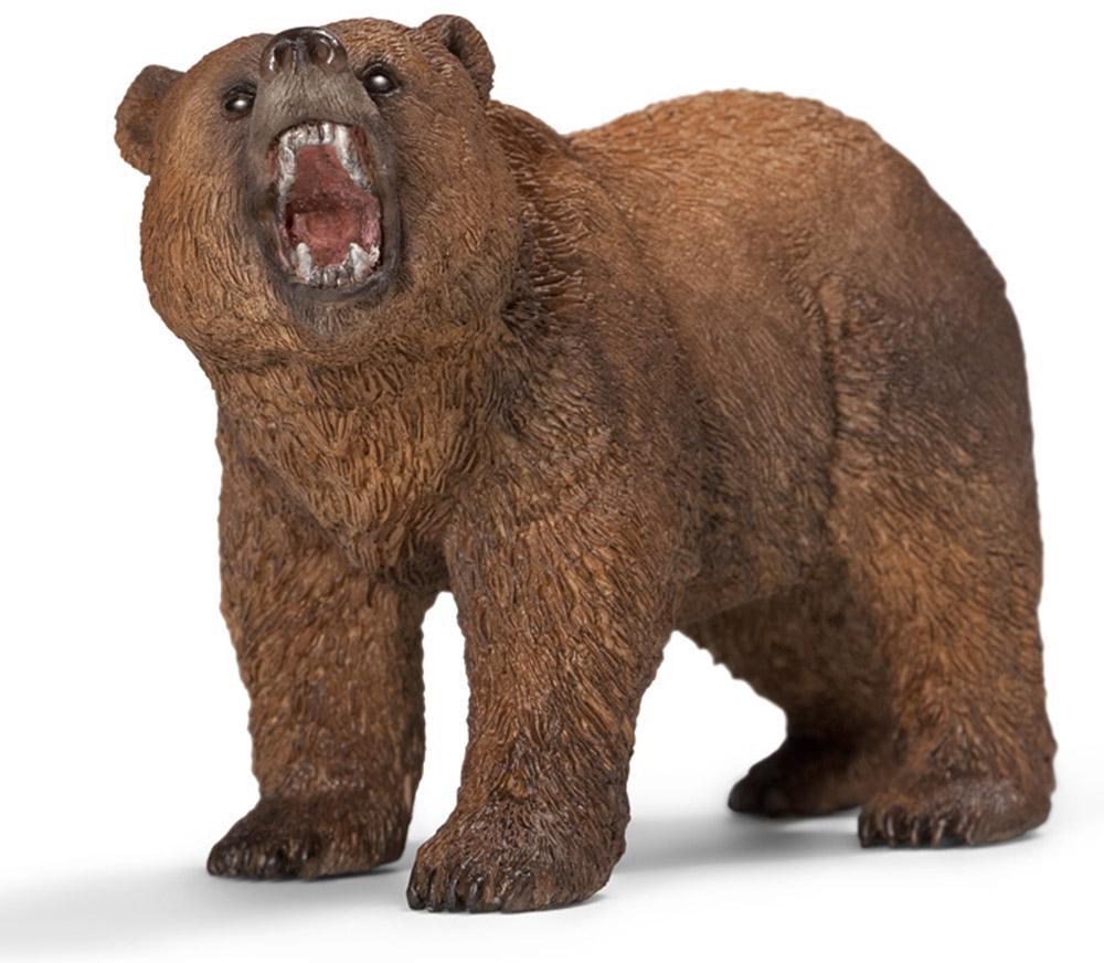 Schleich Фигурка Медведь гризли schleich schleich медведь гризли самка серия дикие животные