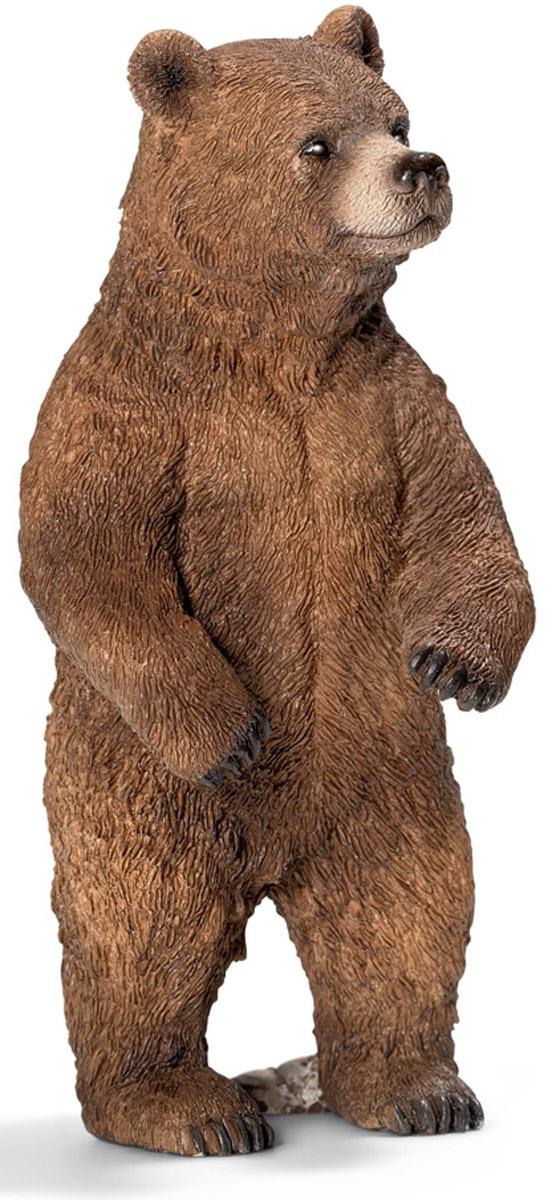 Schleich Фигурка Медведица гризли фигурки игрушки schleich жираф самка