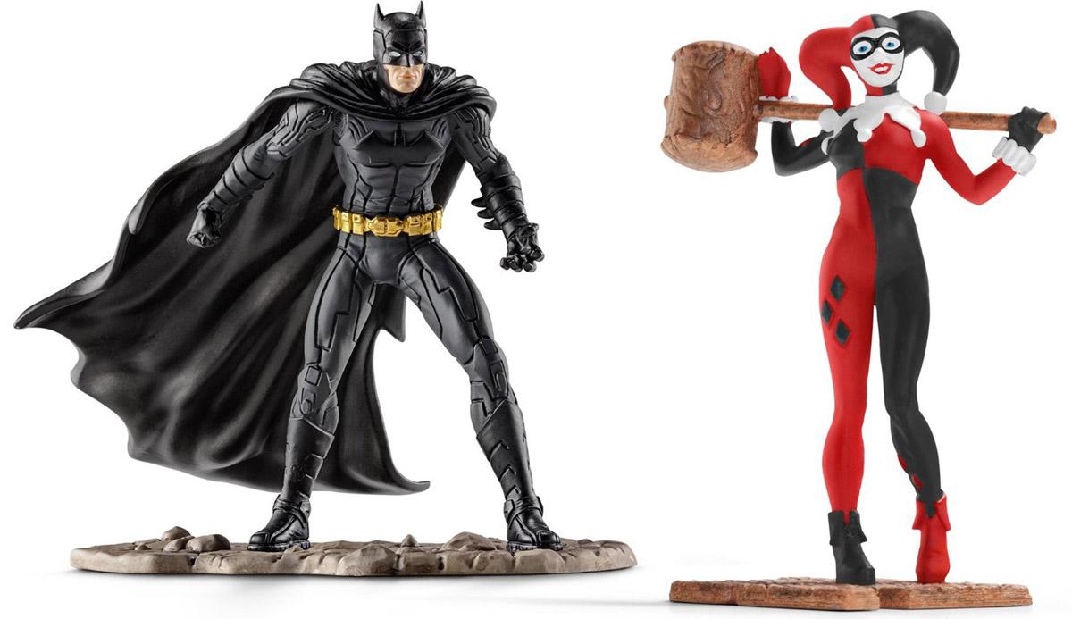 Schleich Набор фигурок Бэтмен и Харли Квин schleich большой набор заводь с животными