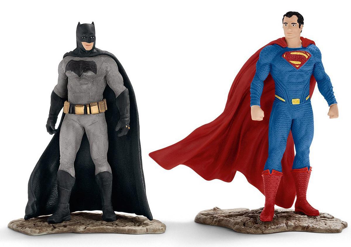 Schleich Набор фигурок Бэтмен и Супермен