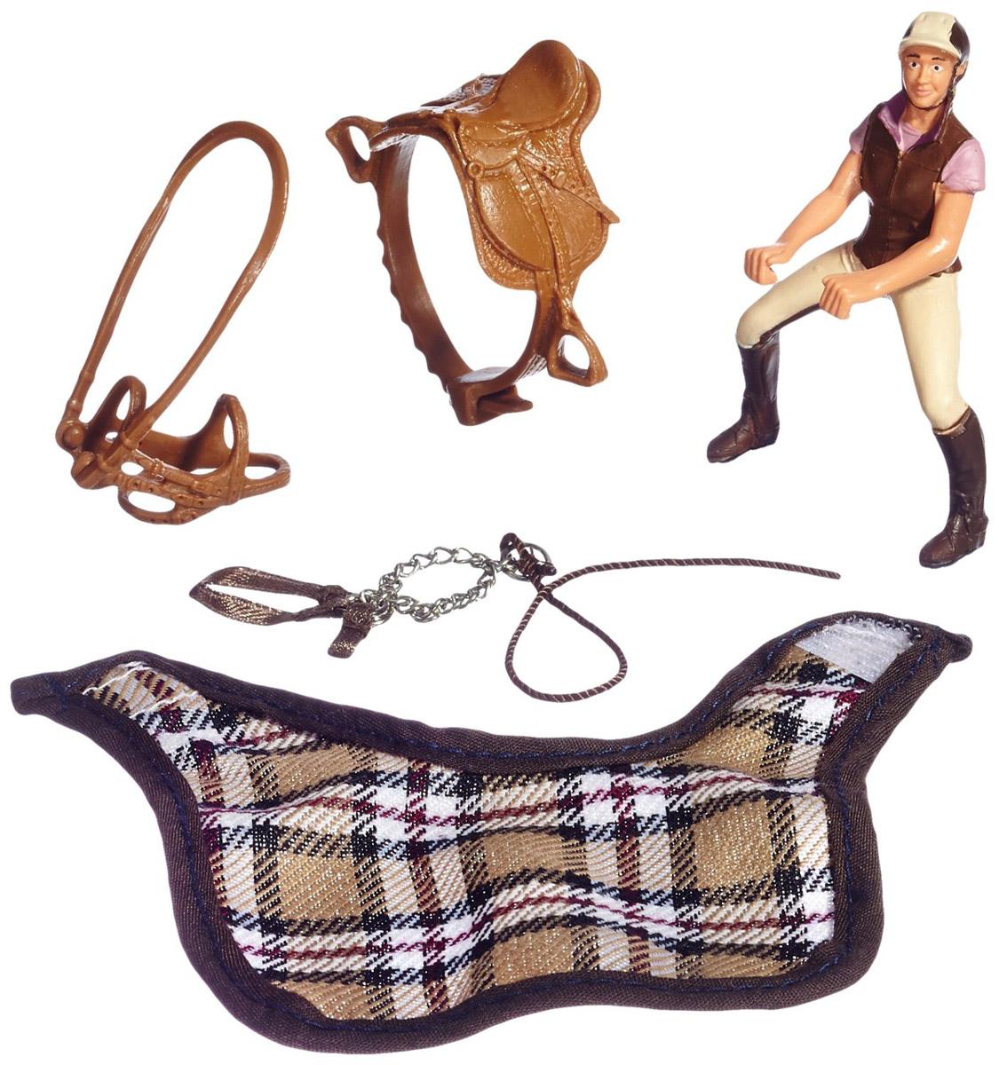 Schleich Игровой набор Любитель верховой езды schleich игровой набор кормление и уход за фризской лошадью