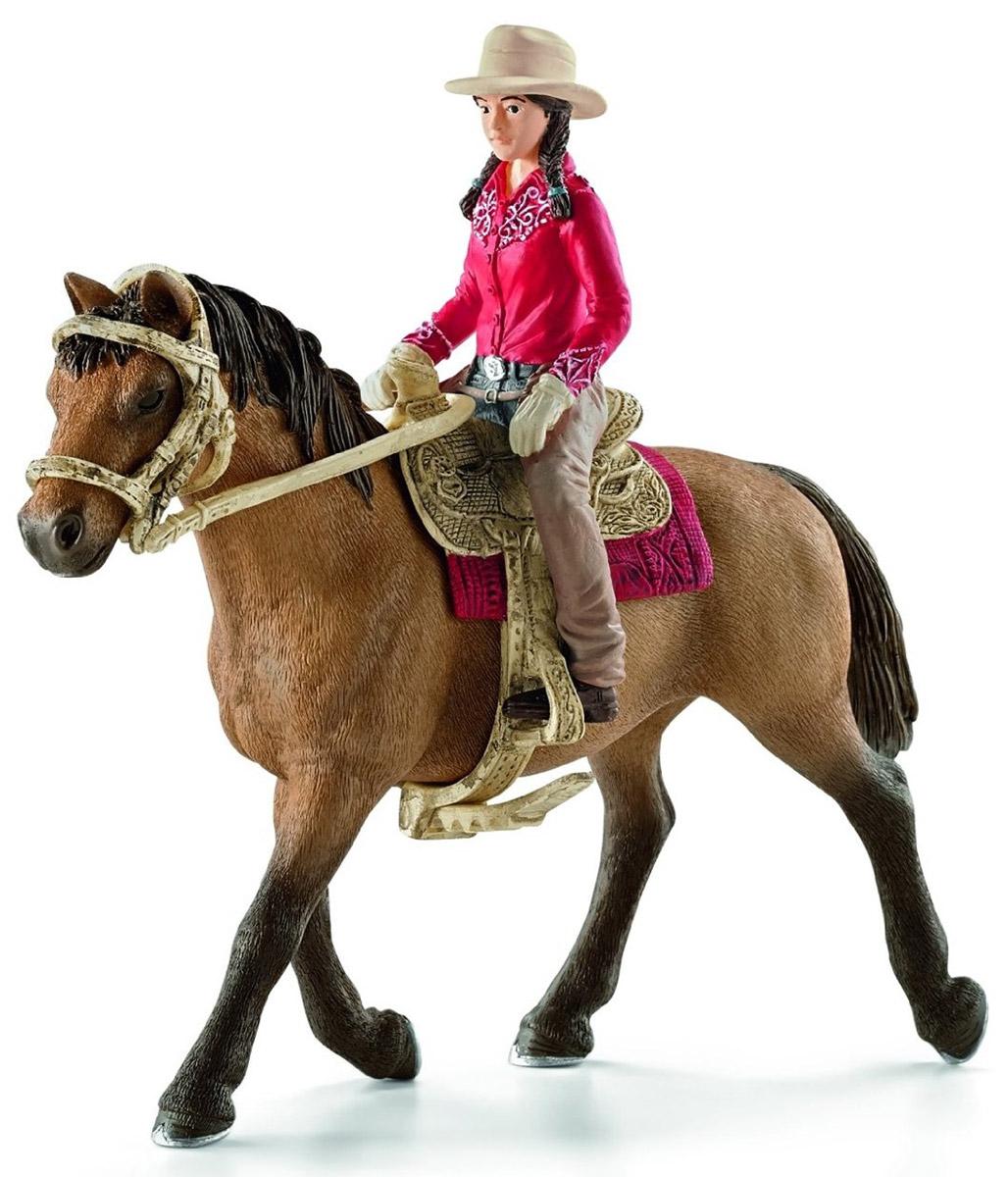 Schleich Фигурка Наездница Вестерн наездник фигурка наездницы с лошадью schleich