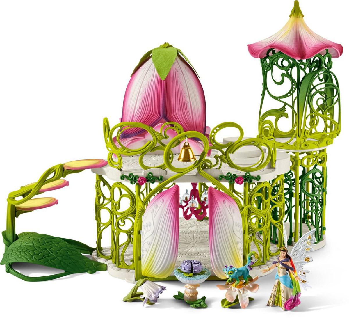 Schleich Игровой набор Волшебный эльфийский замок с аксессуарами schleich bayala