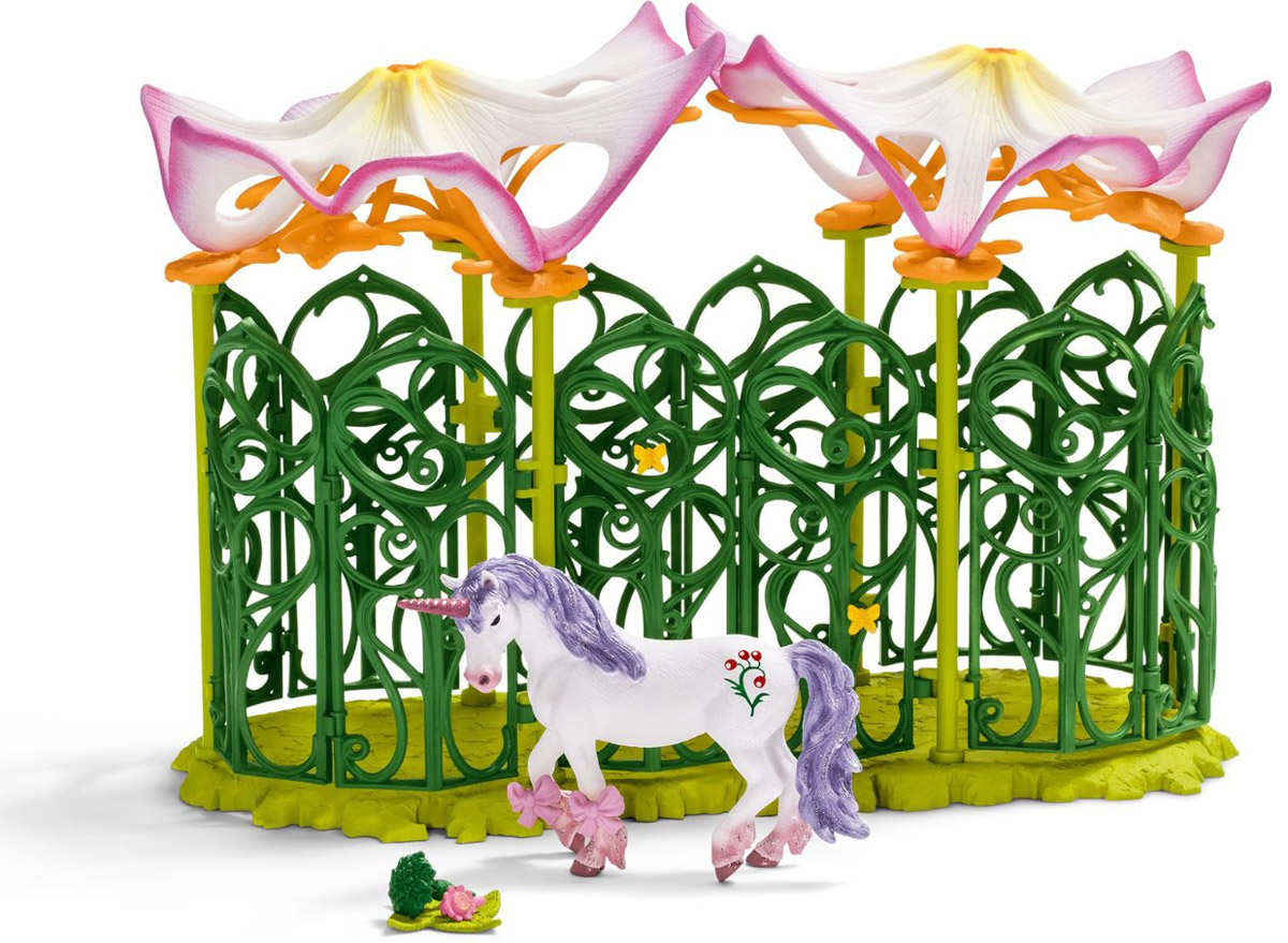 Schleich Игровой набор Эльфийская конюшня schleich корм для коров и телят