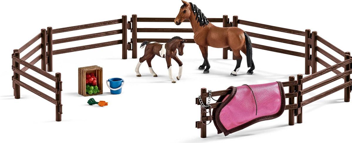 Schleich Загон для животных 42192 schleich игровой набор кормление и уход за фризской лошадью