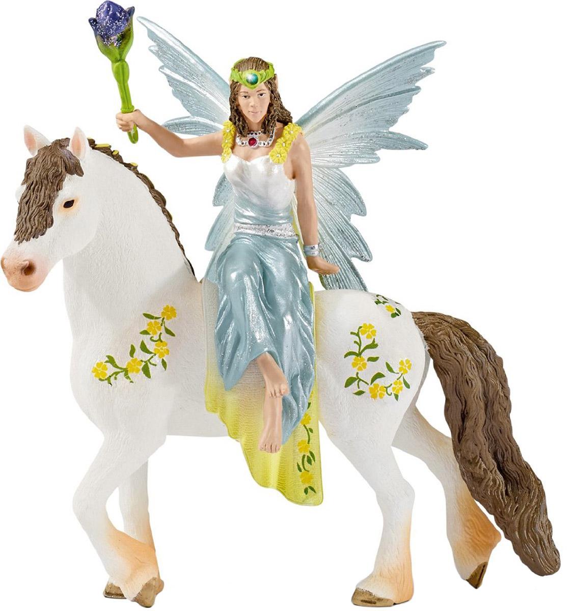 Schleich Фигурка Эльфийка Эяла на лошади игровые наборы schleich повозка для эльфов