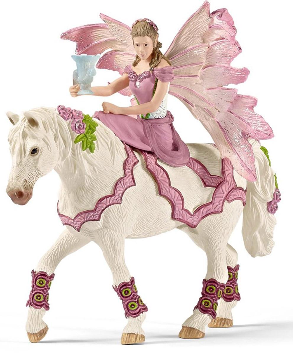Schleich Фигурка Эльфийка Фея на лошади schleich фигурка карликовый козел