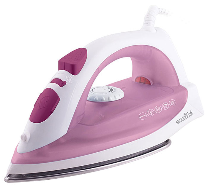 Smile SI 1814, White Pink утюг утюг браун 775