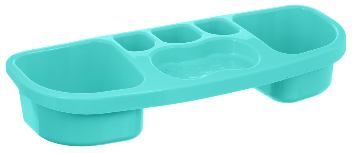 Полка для ванной комнаты Альтернатива, цвет: мятный, 39 х 14,5 х 7,5 смМ1794_мятныйНастенная полка для ванной комнаты Альтернатива,выполненная из высококачественного пластика, имееткомпактный, хорошо продуманный размер, благодаря чему наней удобно разместятся все ваши аксессуары для принятияванны.Подходит для всех типов гладких поверхностей.
