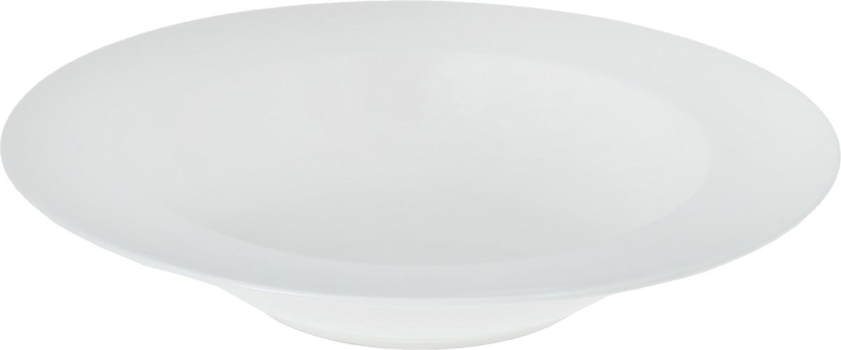 Тарелка глубокая Wilmax, диаметр 30,5 смWL-991220 / AГлубокая тарелка Wilmax, выполненная из высококачественного фарфора, предназначена для красивой сервировки праздничного или обеденного стола. Она прекрасно впишется в интерьер вашей кухни и станет достойным дополнением к кухонному инвентарю. Тарелка Wilmax подчеркнет прекрасный вкус хозяйки и станет отличным подарком для вас и ваших близких.