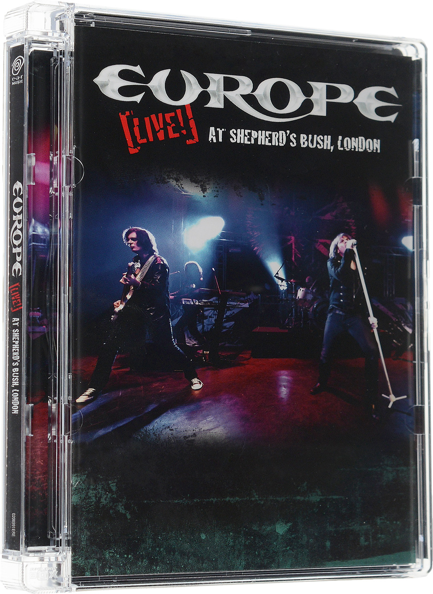 Europe: Live! At Shepherd's Bush, London europe live at shepherd s bush london blu ray