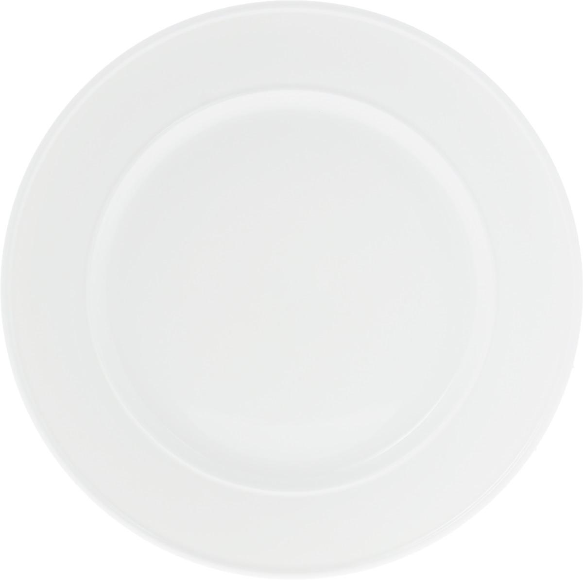 Блюдо Wilmax, диаметр 30,5 см. WL-991244 / AWL-991244 / AОригинальное блюдо Wilmax, изготовленное из высококачественного фарфора, прекрасно подойдет для подачи нарезок, закусок и других блюд. Оно украсит ваш кухонный стол, а также станет замечательным подарком к любому празднику.