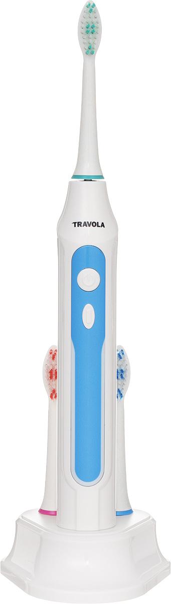 Travola FL-A15 электрическая зубная щеткаFL-A15Travola FL-A15 электрическая зубная щетка, которая эффективно удаляет зубной налет и ухаживает за деснами. С ее помощью вы сможете обеспечить гигиену полости рта на должном уровне. Для этого предусмотрено целых 5 режимов работы: Clean: тщательная чистка зубов Sensitive: мягкая, тщательная чистка чувствительных участков White: общая чистка и отбеливание зубов Gumcare: мягкий, тщательный уход за дёснами Massage: массаж десен * Победитель номинации «Лучшая собственная торговая марка в сегменте ONLINE» Премия PRIVATE LABEL AWARDS (by IPLS) —международная премия в области собственных торговых марок, созданная компанией Reed Exhibitions в рамках выставки «Собственная Торговая Марка» (IPLS) 2016 с целью поощрения розничных сетей, а также производителей продовольственных и непродовольственных товаров за их вклад в развитие качественных товаров private label, которые способствуют росту уровня покупательского доверия в России и СНГ. Электрические зубные щетки. Статья OZON Гид