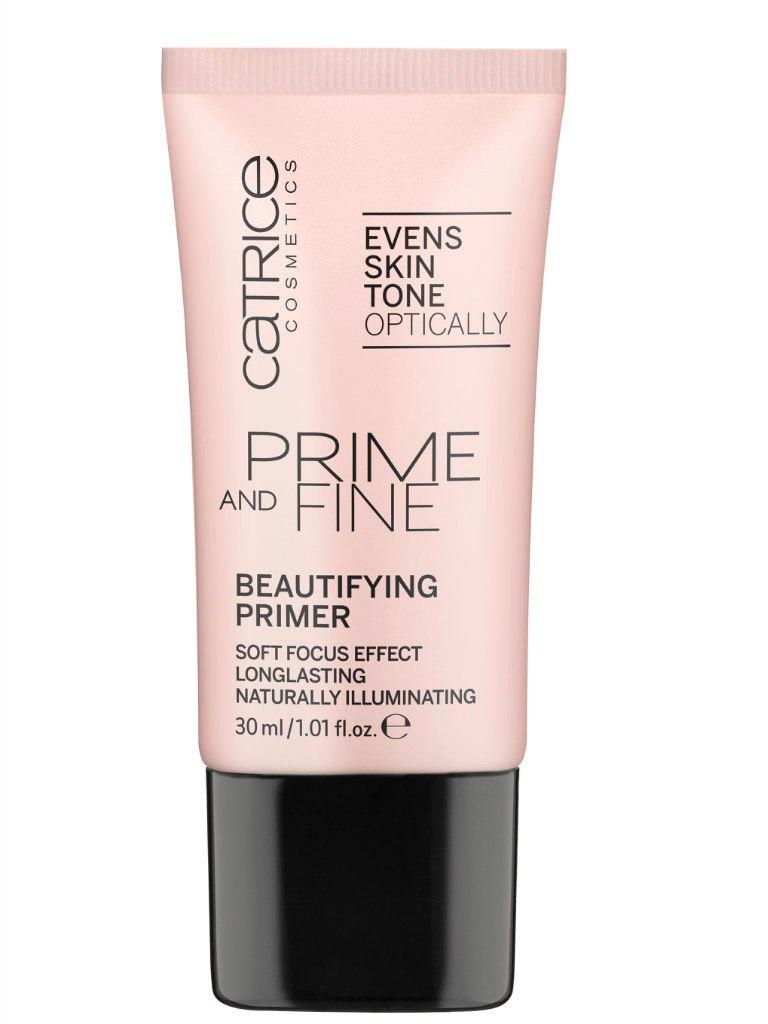 Catrice Основа выравнивающая Prime And Fine Beautifying Primer, 40 гр56332База под макияж нежного розового цвета с витамином Е и невероятно деликатными светоотражающими пигментами, благодаря которым кожа приобретает естественное сияние, гладкость и безупречный вид. Праймер обладает отличной стойкостью и может быть использован как в качестве основы под макияж, так и самостоятельно. Благодаря шелковистой текстуре и приятному нежному аромату база CATRICE Prime And Fine Beautifying Primer обещает стать одним из любимых средств в косметичке любой модницы.
