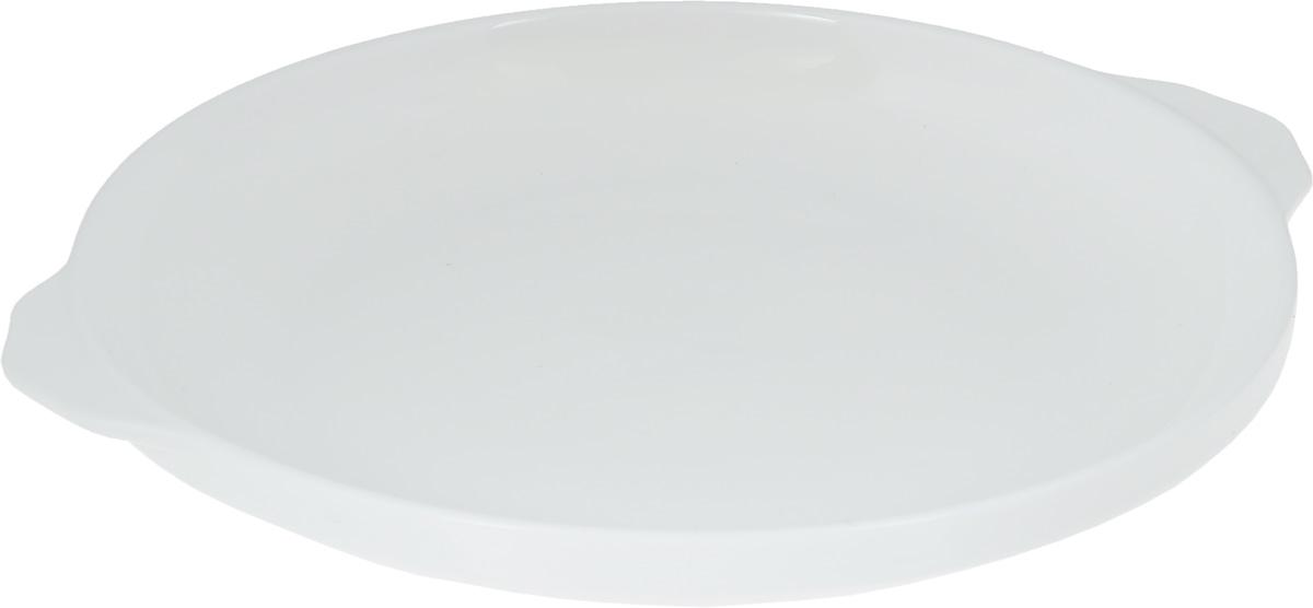 Блюдо Wilmax, диаметр 25,5 смWL-997004 / AОригинальное блюдо Wilmax, изготовленное из высококачественного фарфора, оснащено двумя удобными ручками. Изделие прекрасно подойдет для порционной подачи нарезок, закусок и других блюд. Блюдо Wilmax украсит ваш кухонный стол, а также станет замечательным подарком к любому празднику. Ширина блюда (с учетом ручек): 27 см.Диаметр блюда (по верхнему краю): 25,5 см.