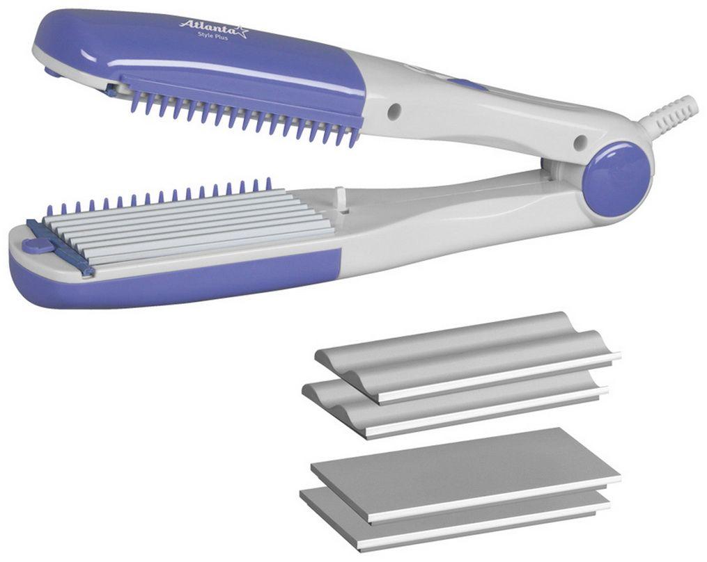 Atlanta ATH-937 электрощипцы для укладки волосATH-937Компактные и многофункциональные щипцы для укладки волос Atlanta ATH-937 с рабочей поверхностью гофре помогут вам создать идеальную укладку у себя дома. Модель имеет керамический нагревательный элемент и обладает мощностью 30 Вт. Щипцы бережно уложат ваши волосы и не пересушат их.