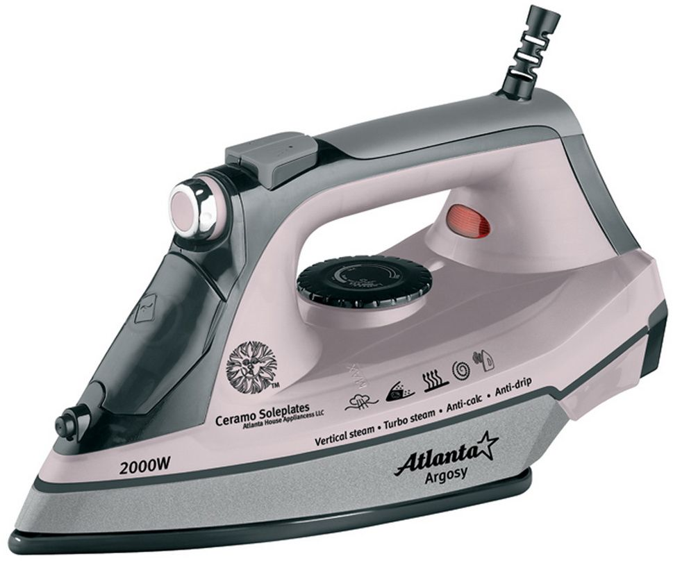 Atlanta ATH-5535, Pink утюг - Утюги
