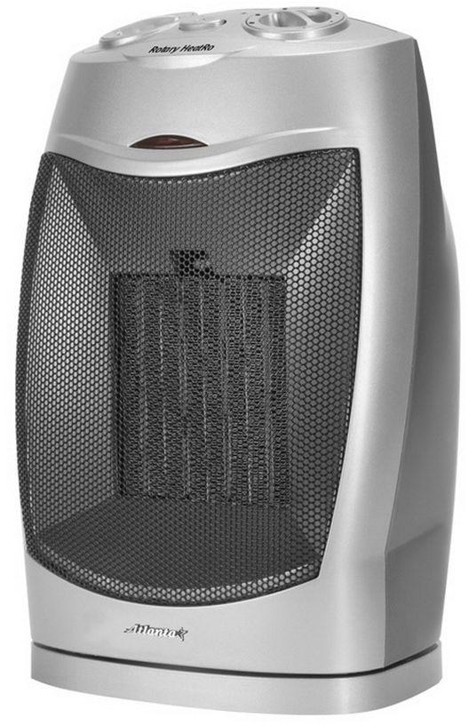 Atlanta ATH-7305 тепловентиляторATH-7305ТепловентиляторATH-7305 служит для быстрого прогрева помещения с наименьшими затратами электроэнергии. Принудительно нагнетая горячий воздух, тепловентилятор заставляет его циркулировать, смешиваясь с холодным, благодаря чему прогрев помещения происходит значительно быстрее, чем в случае обычных обогревателей. Тепловентилятор ATH-7305 может работать в режиме обычного вентилятора, а также нагнетать теплый или горячий воздух. Используя разные режимы работы можно добиться установления в помещении устойчивого и комфортного микроклимата. Материал корпуса - термостойкий пластик абсолютно безвреден и соответствует всем стандартам безопасности. 3 режима работыРежим вентилятора без нагрева, режим теплого потока воздуха и режим горячего потока воздуха.Как выбрать обогреватель. Статья OZON Гид