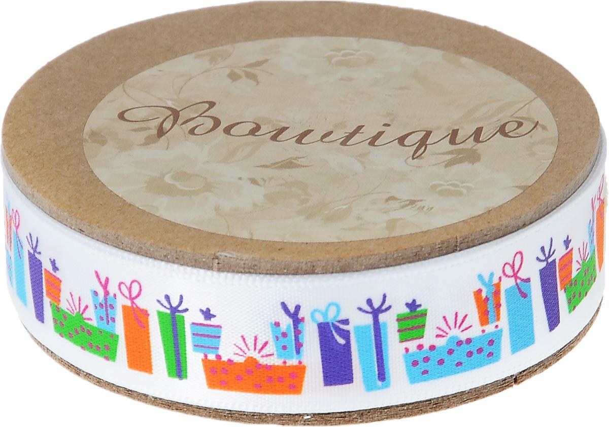 Лента атласная Hemline Подарки, 1,5 х 500 смVR15.513Лента на картонной катушке Hemline Подарки выполнена из гладкого и шелковистого полиэстера. Такая лента идеально подойдет для оформления различных творческих работ, может использоваться для скрапбукинга, создания аппликаций, декора коробок и открыток, часто ее применяют при пошиве одежды, сумок, аксессуаров. Лента наивысшего качества практична в использовании. Она станет незаменимым элементом в создании вашего рукотворного шедевра.