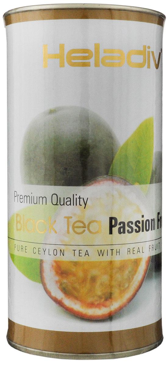 Heladiv Passion Fruit чай черный листовой с ароматом  маракуйи, 100 г heladiv cherry чай черный в пакетиках с ароматом вишни 25 шт