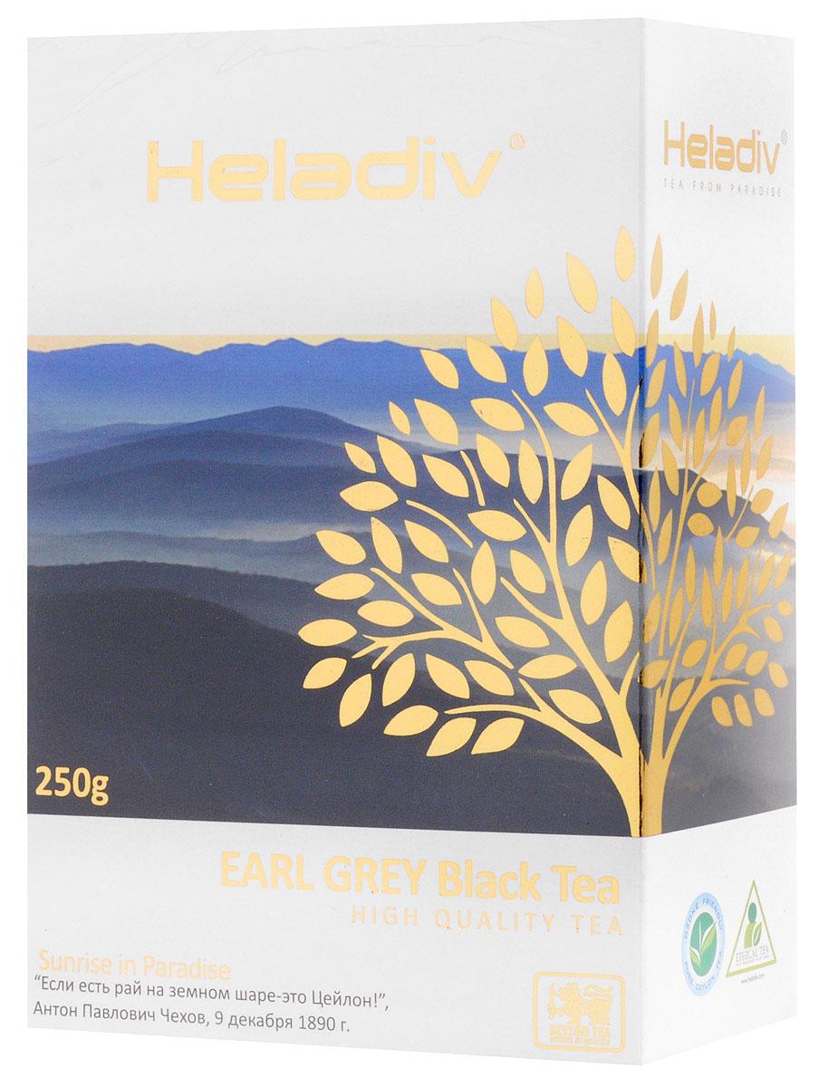 Heladiv Earl Grey Pekoe чай черный листовой с ароматом бергамота, 250 г чай heladiv чай черный листовой heladiv pekoe 400г