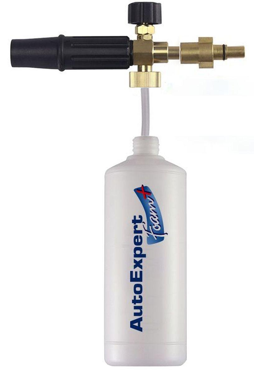 Пенная насадка AutoExpert Foam+ B, для моек высокого давления Bosch1001101Пенная насадка AutoExpert Foam+ B предназначена для нанесения бесконтактного моющего средства и формирования густой качественной пены.Совместимость: Бытовые мойки Bosch серий AQT (с 2013 года), бытовые мойки Black&Decker серии PW. Не совместима с моделями Bosch Aquatak (до 2013 года).Размеры (без учета насадки): 8 х 23 х 8 смРазмеры насадки: 8 х 22,5 х 3 смОбъем: 1 л.