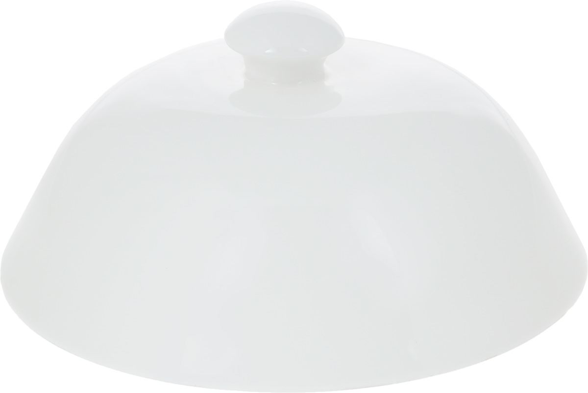"""Баранчик (крышка для горячего) """"Wilmax"""" изготовлен из высококачественного фарфора. Изделие используется в качестве крышки для тарелок и позволяет дольше сохранить блюда горячими. Такая крышка станет настоящим украшением праздничного стола, а также подойдет для повседневного использования. Диаметр баранчика: 12,5 см. Высота: 7 см."""