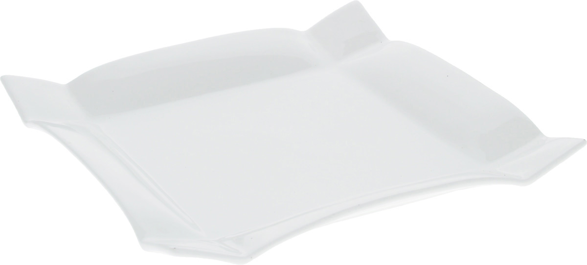 Тарелка Wilmax, 20 х 20 смWL-991231 / AТарелка Wilmax, изготовленная из высококачественного фарфора, имеет квадратную форму. Оригинальный дизайн придется по вкусу и ценителям классики, и тем, кто предпочитает утонченность и изысканность. Тарелка Wilmax идеально подойдет для сервировки стола и станет отличным подарком к любому празднику.Размер тарелки (по верхнему краю): 20 х 20 см.