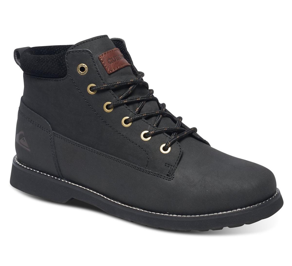Купить Ботинки мужские Quiksilver Mission II, цвет: черный. AQYB700022-SBKM. Размер 6 (39)