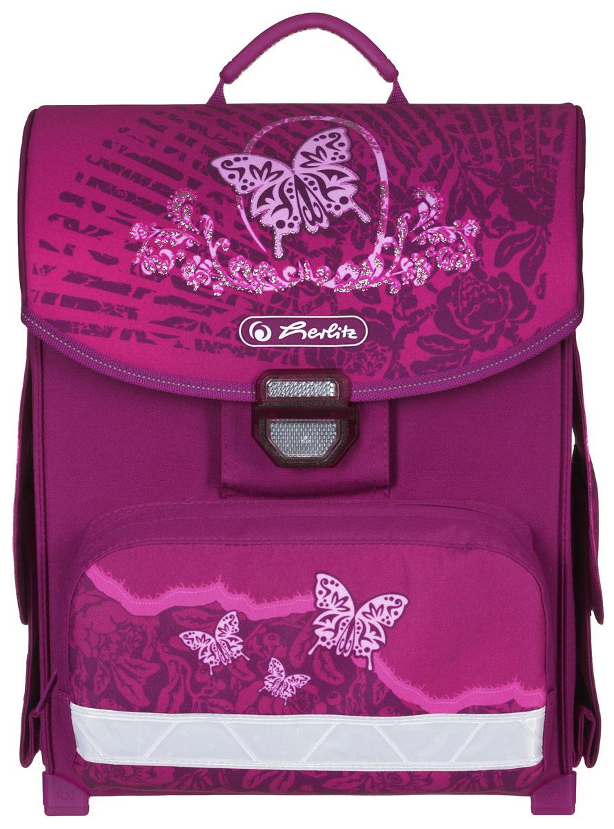 Herlitz Ранец школьный Rose Butterfly herlitz ранец школьный smart butterfly