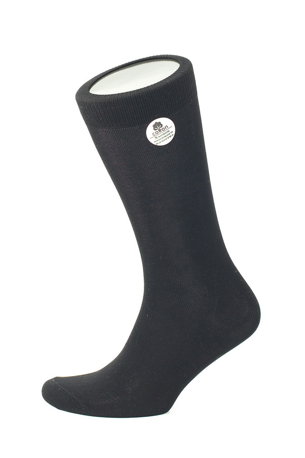 Носки мужские Uomo Fiero, цвет: черный. MS025. Размер 25 (39/41)MS025Мужские носки Uomo Fiero, изготовленные из высококачественного хлопка с добавлением эластана. Эластичная резинка плотно облегает ногу, не сдавливая ее, обеспечивая комфорт и удобство. Носки обладают повышенной прочностью, не подвержены усадке. Модель с классическим паголенком.