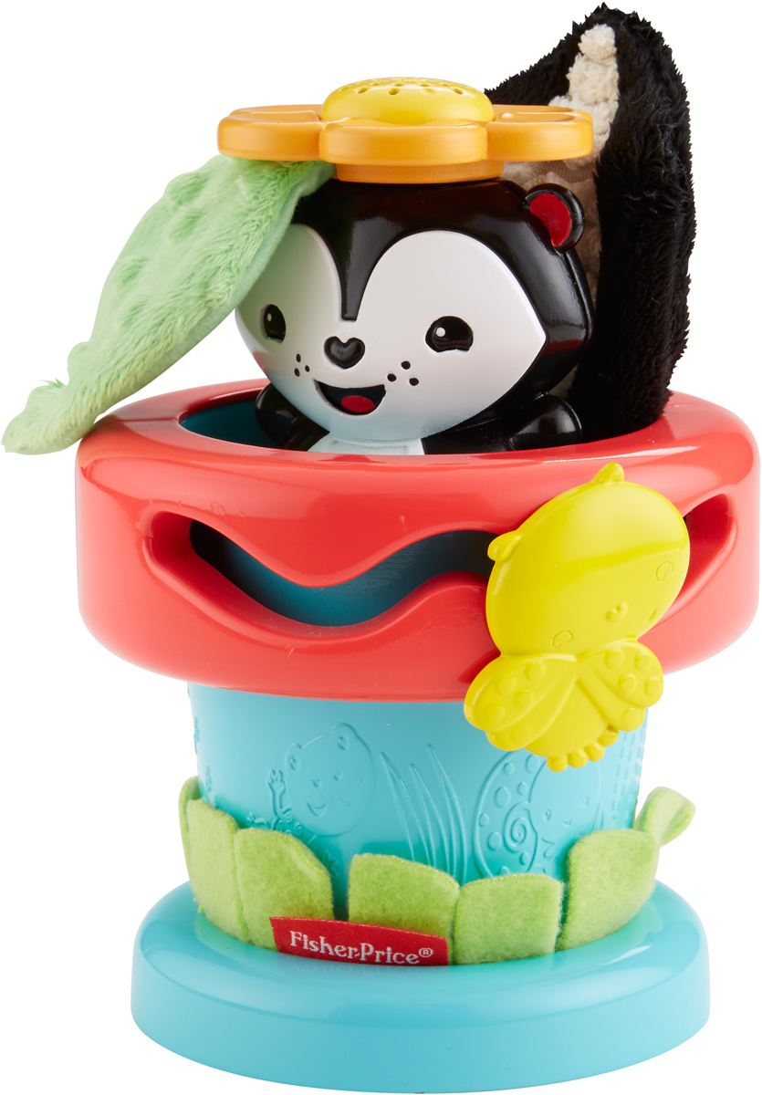 Fisher-Price Развивающая игрушка Цветочный горшок fisher price развивающая игрушка пианино ученого щенка
