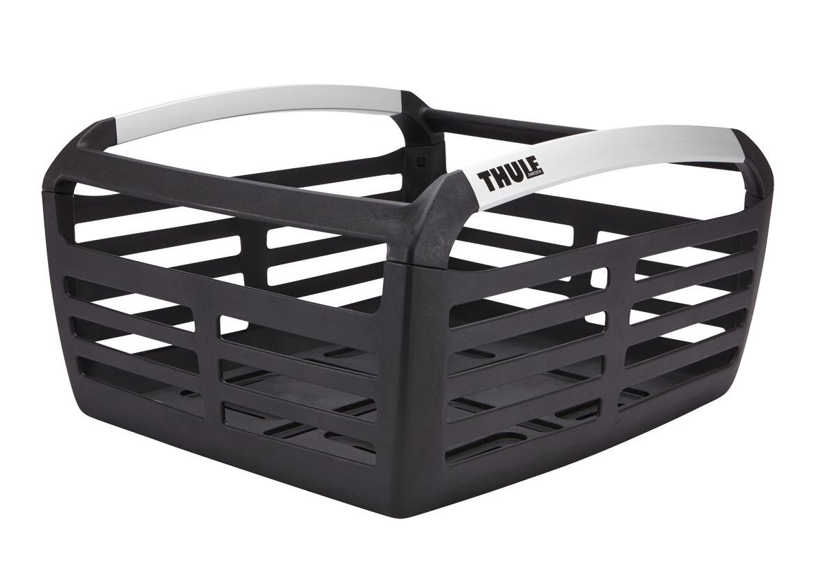 Корзина велосипедная Thule Pack n Pedal Basket, цвет: черный, 39.5 x 33.9 x 21.5 см100050Корзина Thule Pack'n Pedal Basket - это функциональная и стильная корзина, которая обеспечит дополнительное место для Вашего груза, как на переднем, так и на заднем багажнике. Корзина Thule Pack'n Pedal Basket легка и надежна. Она способна безопасно разместить мелкие и крупные предметы ( до двух продуктовых пакетов). Монтаж и демонтаж к багажнику или направляющим (продаются отдельно) производится легко и подручными инструментами. Корзина имеет алюминиевые вставки, что увеличивает срок службы. Крепится на багажник для велосипеда Thule Pack'n Pedal Tour (продается отдельно).