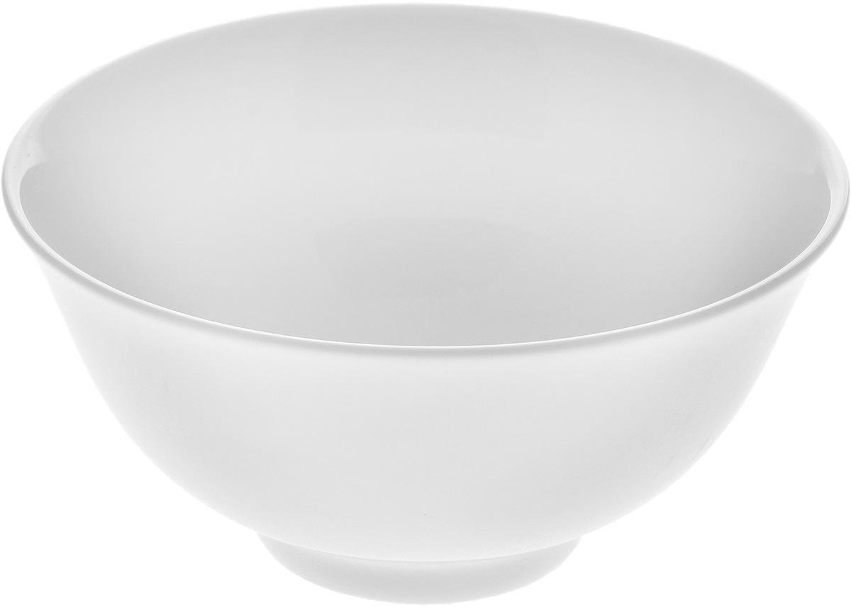 Пиала Wilmax, 260 млWL-992552 / AПиала Wilmax изготовлена из высококачественного фарфора. Изделие прекрасно подойдет для подачи салата или мороженого. Благодаря изысканному дизайну, такая пиала станет бесспорным украшением вашего стола. Она дополнит коллекцию кухонной посуды и будет служить долгие годы. Диаметр пиалы по верхнему краю: 11 см. Диаметр основания: 4,5 см.Высота пиалы: 5 см.
