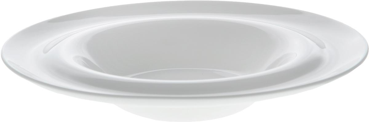 Тарелка глубокая Wilmax, диаметр 23 см. WL-991022 / AWL-991022 / AГлубокая тарелка Wilmax, выполненная извысококачественного фарфора, предназначена для подачи супов и других жидкихблюд. Она прекрасно впишется винтерьер вашей кухни и станет достойным дополнениемк кухонному инвентарю.Тарелка Wilmax подчеркнет прекрасный вкус хозяйкии станет отличным подарком.