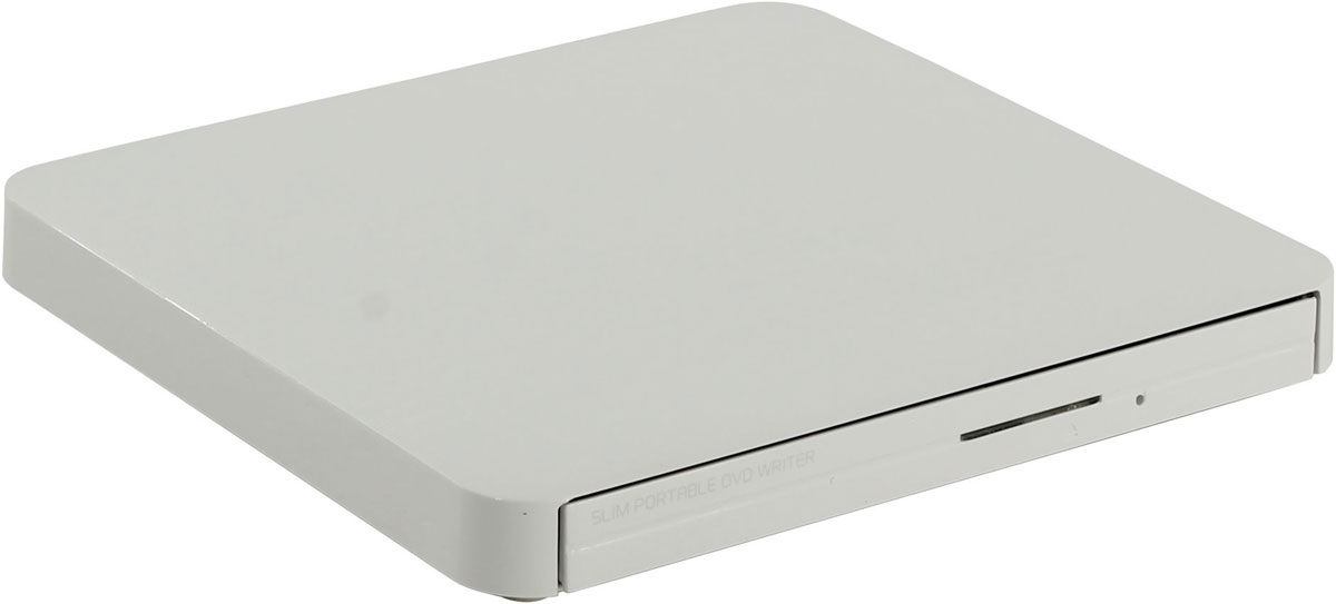 LG GP50NW41, White внешний оптический привод cc773 cc755 y8533 dell cd rw dvd rom combo optical drive crx835e dc read dvd 8x read cd 24x write cd r 24x write cd rw 24x for optiplex gx520 gx620 dimension 5150c xps 200 small form factor sff systems