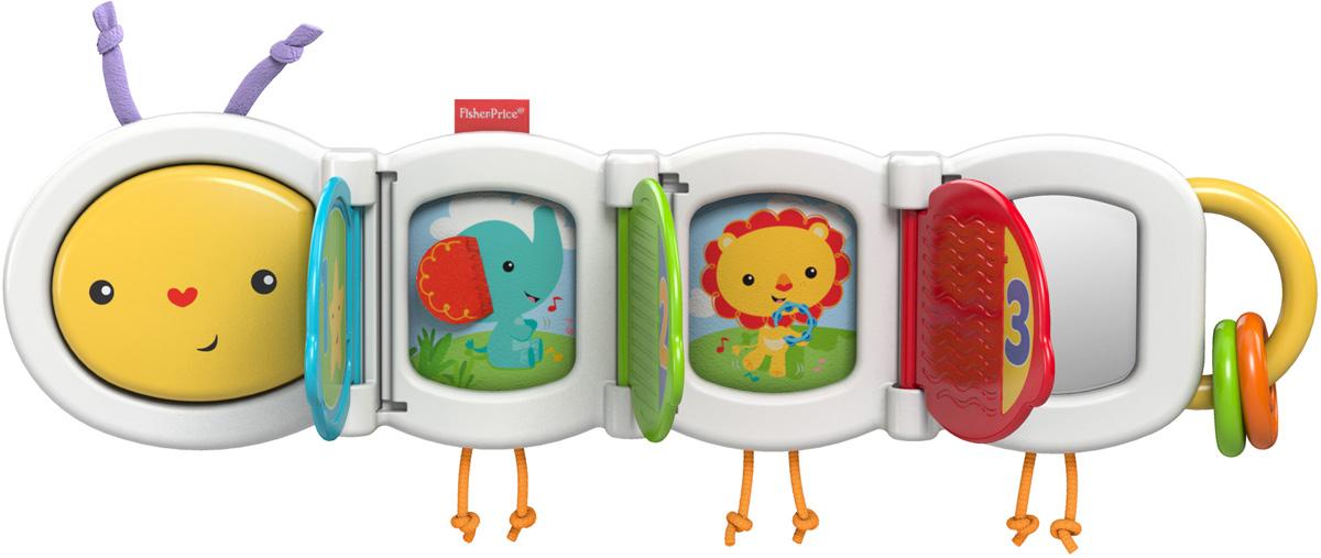 Fisher-Price Развивающая игрушка Гусеничка с сюрпризом ситников ю головоломка с сюрпризом