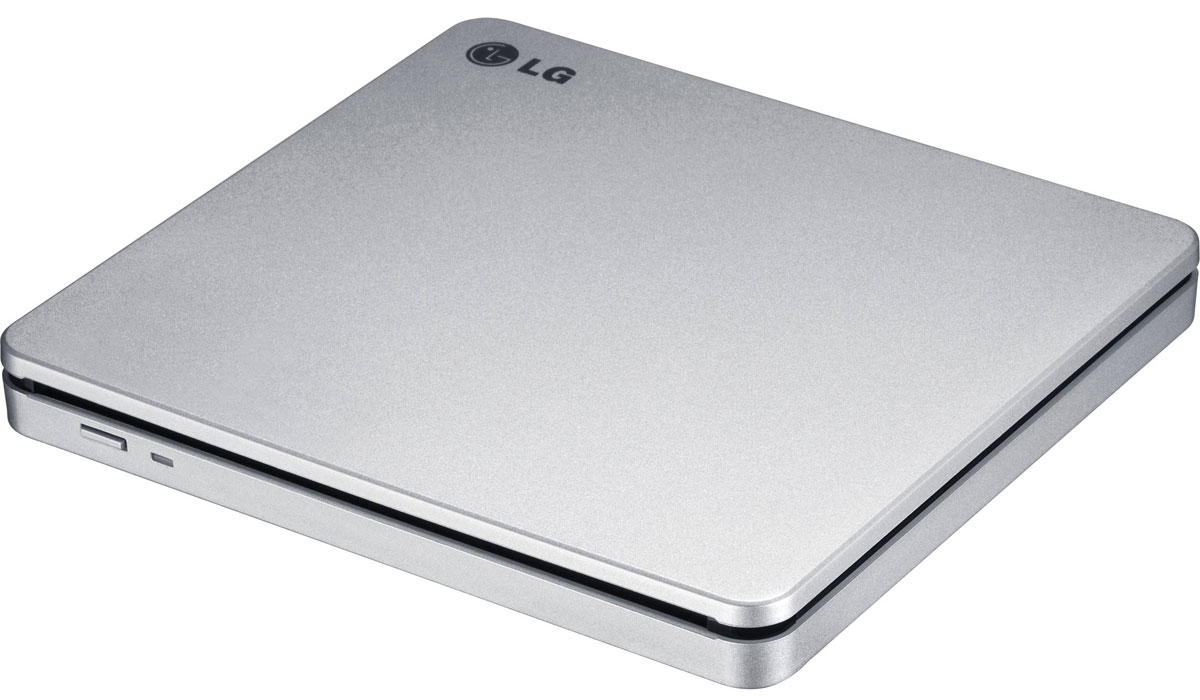 LG GP70NS50, Silver внешний оптический привод cc773 cc755 y8533 dell cd rw dvd rom combo optical drive crx835e dc read dvd 8x read cd 24x write cd r 24x write cd rw 24x for optiplex gx520 gx620 dimension 5150c xps 200 small form factor sff systems