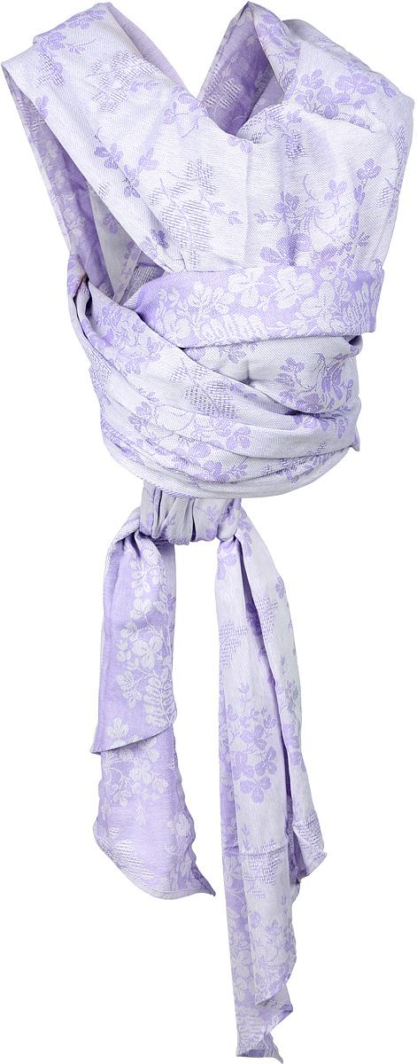 Чудо-Чадо Слинг-шарф Герба цвет сиреневый