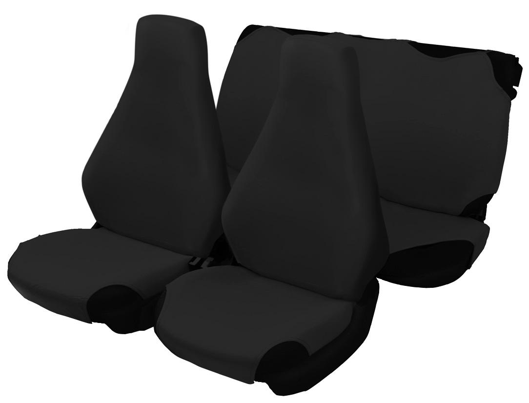 Чехол-майка Azard 7 Classic, цвет: черный, 4 предметаМАЙ00032Универсальные чехлы-майки на сидения автомобиля. Для автомобильных кресел с несъемными подголовниками. Идеально подходят для ВАЗ 2107.Чехлы надежно прилегают к автокреслам и не собираются в процессе эксплуатации. Применимы в автомобилях с боковыми подушками безопасности (AIR BAG).Материал триплирован огнеупорным поролоном 2 мм, за счет чего чехол приобретает дополнительную мягкость и устойчивость к возгоранию.Авточехлы майки Azard 7 Classic износоустойчивы и легко стирается в стиральной машине. Рекомендуется стирка в деликатном режиме.
