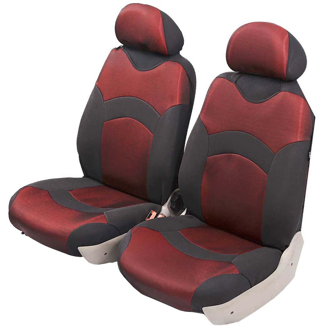 Чехол-майка Azard Revolution, передний комплект, цвет: красный, 2+2 предметаМАЙ00035Универсальные чехлы-майки на передние сидения автомобиля. Полностью закрывают сидения.Чехлы надежно прилегают к автокреслам и не собираются в процессе эксплуатации. Применимы в автомобилях с боковыми подушками безопасности (AIR BAG).Материал триплирован огнеупорным поролоном 2 мм, за счет чего чехол приобретает дополнительную мягкость и устойчивость к возгоранию.Авточехлы майки Azard Revolution износоустойчивы и легко стирается в стиральной машине. Рекомендуется стирка в деликатном режиме.