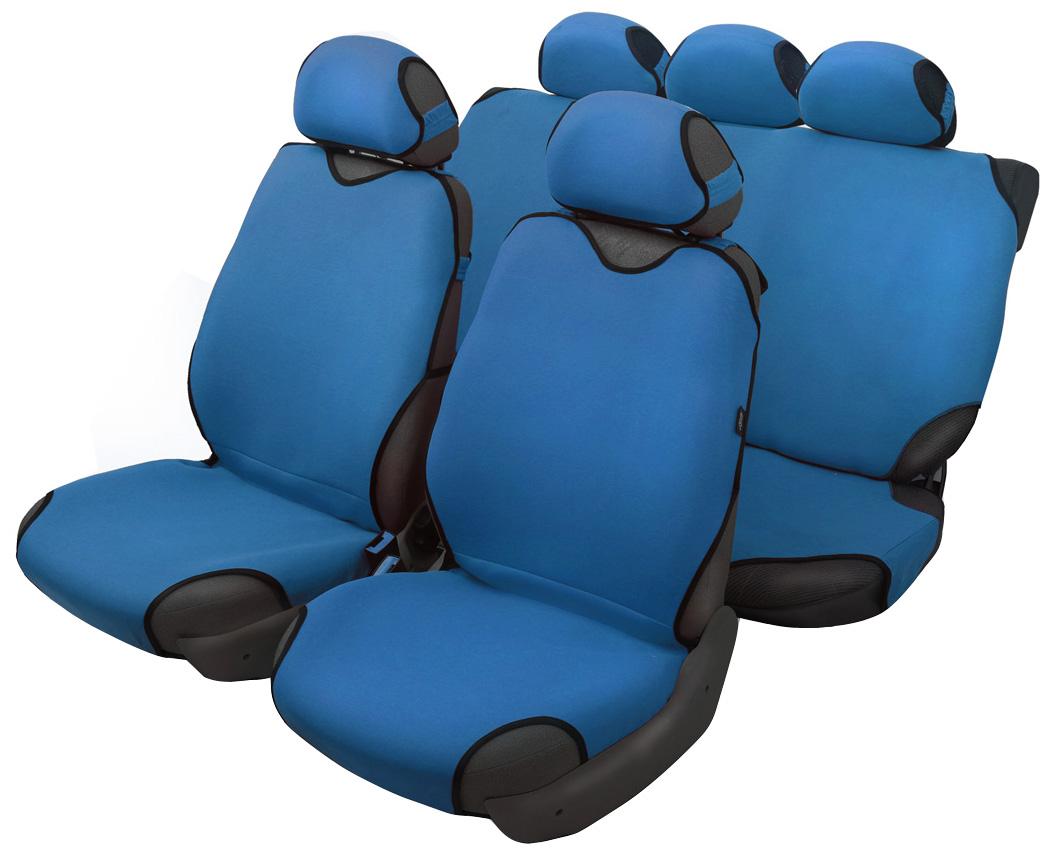 Чехол-майка Azard Sprint, полный комплект, цвет: темно-синий, 4+5 предметовМАЙ00070Универсальные чехлы-майки на сидения автомобиля. Классический дизайн.Чехлы надежно прилегают к автокреслам и не собираются в процессе эксплуатации. Применимы в автомобилях с боковыми подушками безопасности (AIR BAG).Материал триплирован огнеупорным поролоном 2 мм, за счет чего чехол приобретает дополнительную мягкость и устойчивость к возгоранию.Авточехлы майки Azard Sprint износоустойчивы и легко стирается в стиральной машине. Рекомендуется стирка в деликатном режиме.
