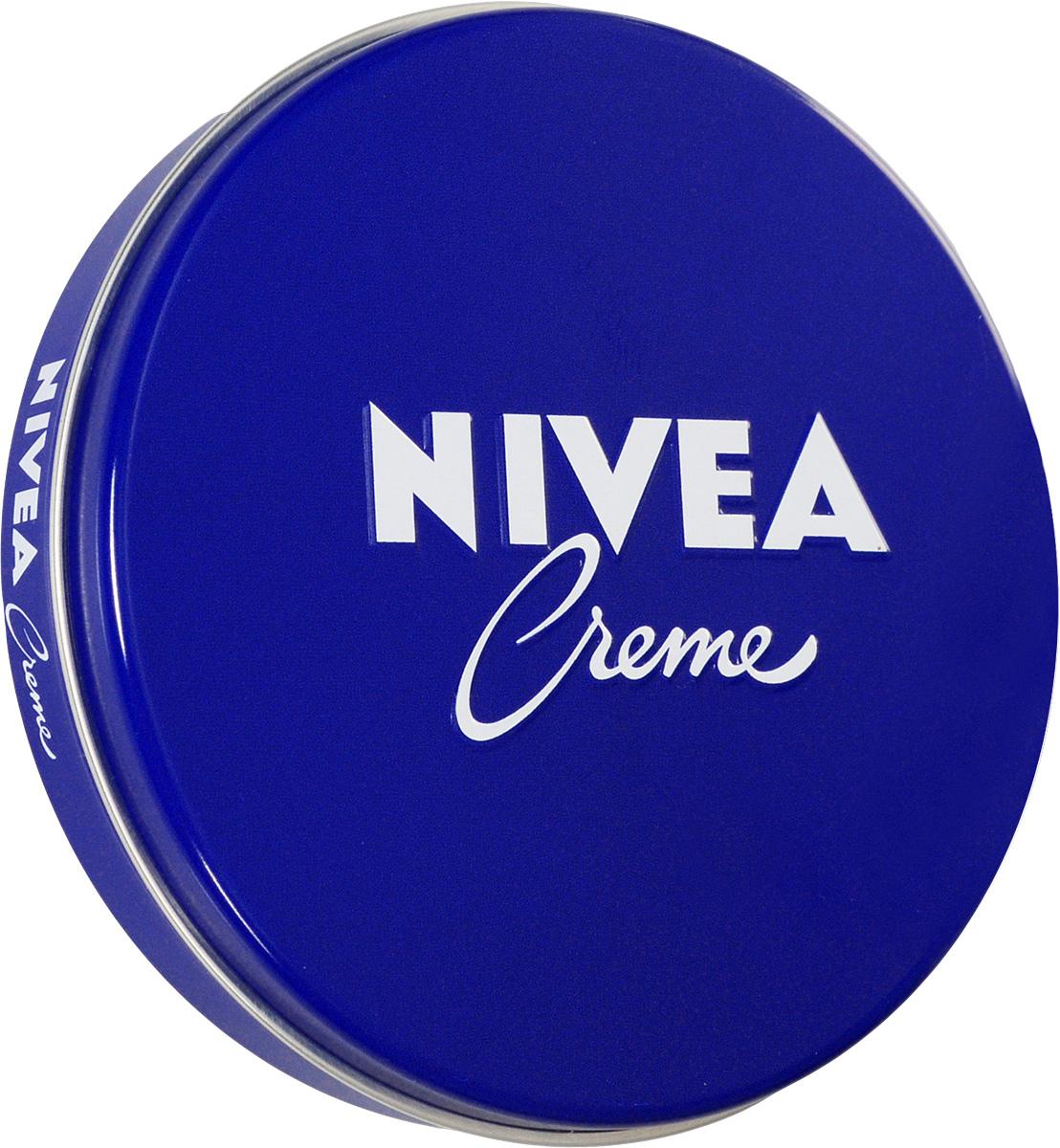 NIVEA Крем для ухода за кожей 75 мл75 мл100112153NIVEA Creme - универсальный увлажняющий крем. Благодаря уникальной формуле с эвцеритом, пантенолом и глицерином, крем прекрасно увлажняет, питает и бережно ухаживает за кожей тела, особенно за ее сухими участками. NIVEA Creme не содержит консервантов и поэтому подходит даже для нежной детской кожи. Продукт одобрен дерматологами. Товар сертифицирован.
