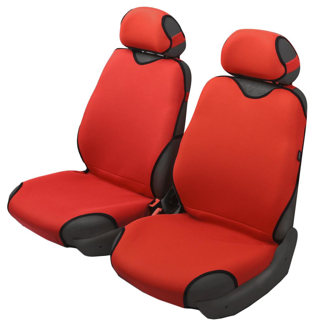 Чехол-майка Azard Sprint, передний комплект, цвет: красный, 4 предметаМАЙ00047Универсальные чехлы-майки на сидения автомобиля. Классический дизайн.Чехлы надежно прилегают к автокреслам и не собираются в процессе эксплуатации. Применимы в автомобилях с боковыми подушками безопасности (AIR BAG).Материал триплирован огнеупорным поролоном 2 мм, за счет чего чехол приобретает дополнительную мягкость и устойчивость к возгоранию.Авточехлы-майки Azard Sprint износоустойчивы и легко стирается в стиральной машине. Рекомендуется стирка в деликатном режиме.