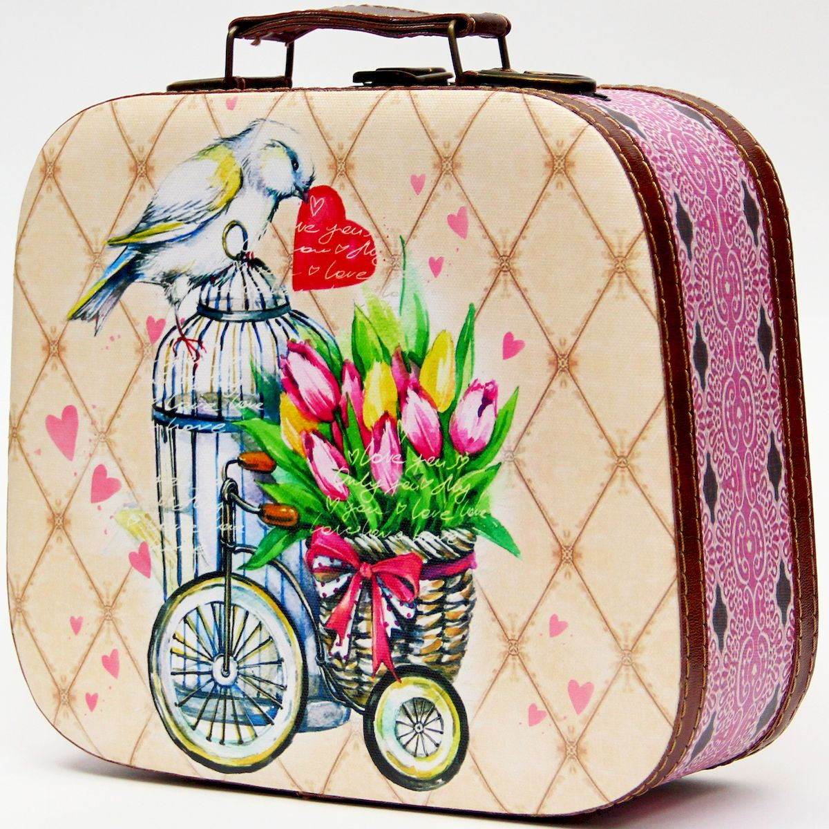 Шкатулка декоративная Magic Home Летнее настроение, цвет: бежевый, 25 х 20,5 х 9 см шкатулки magic home шкатулка дождь в париже