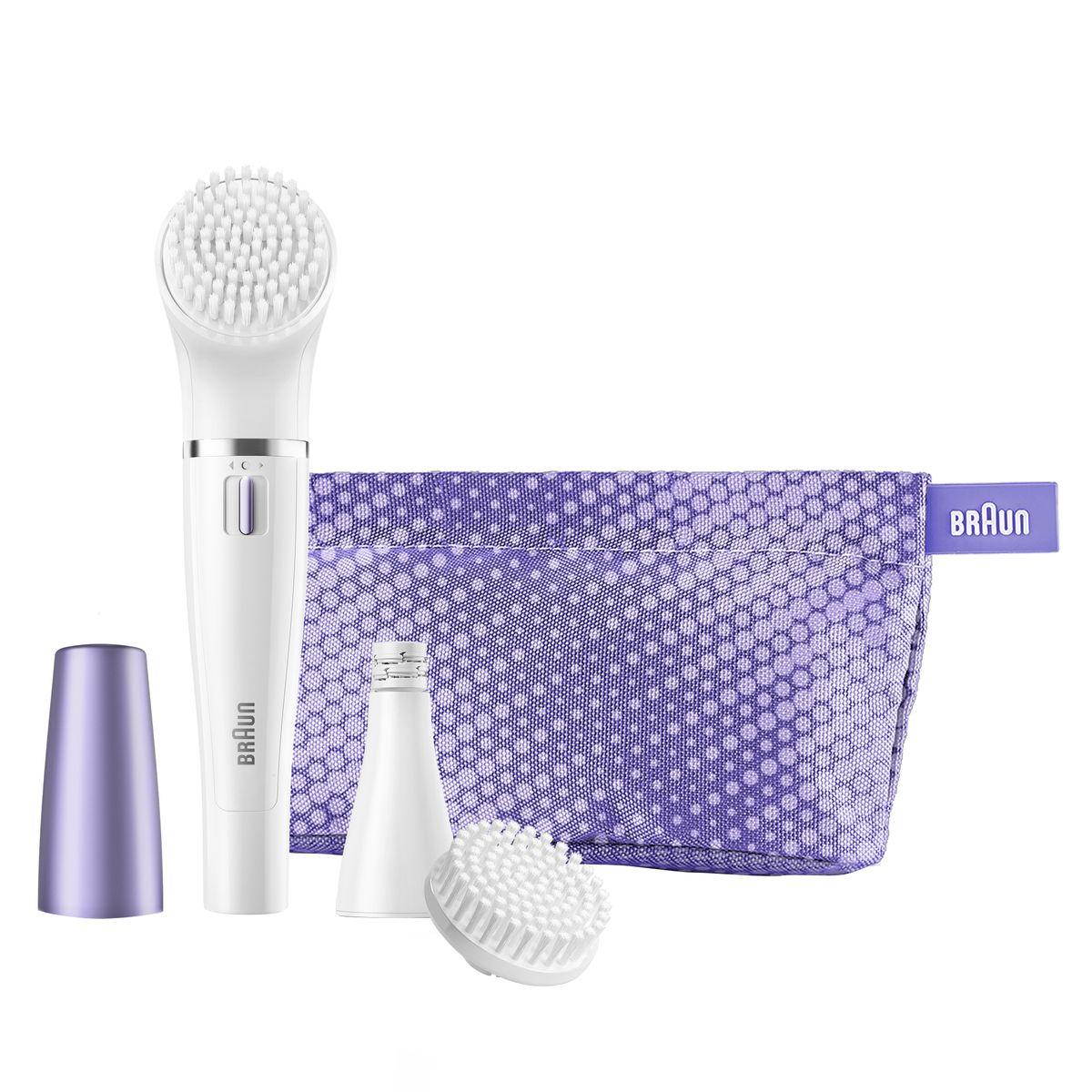 Braun Face 832n щеточка для очищения + эпилятор для лица купить лазерный эпилятор для домашнего